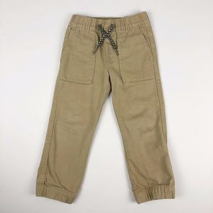 BabyGap Boy's Khaki Lightweight Denim Jogger Pants